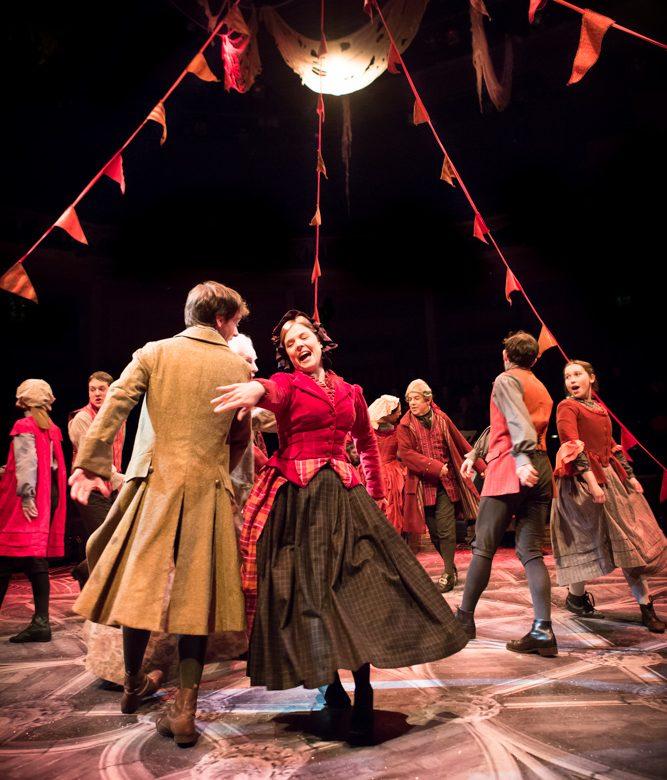 christmas carol new theatre